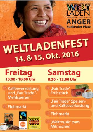 Weltladenfest Anger