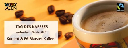 Tag des Kaffees – Fairkostung